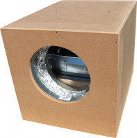 Airfan Schneckenhauslüfterbox 1500m³/h in:250mm out:250mm