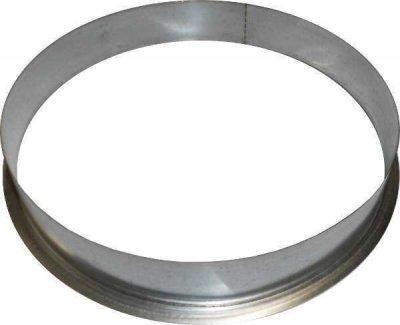 Anschlussflansch Metall Ø125mm