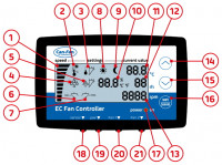 Can EC-Fan Controller LCD