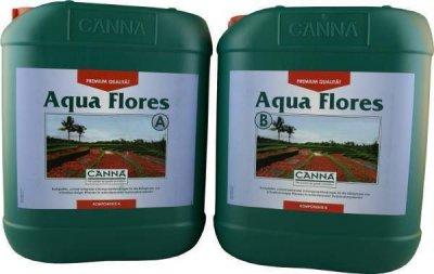 Canna Aqua Flores A+B 2x 10 Liter