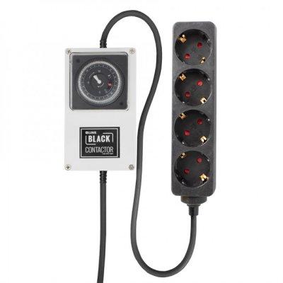 Lumii Black Zeitschaltuhr mit Relais 1,8KW