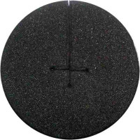 Neoprendisk Ø5cm schwarz