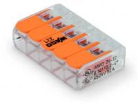 WAGO Verbindungsklemme 5-fach 0,08-4,0mm²