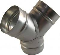 Y-Stück Metall Ø125mm