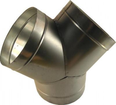 Y-Stück Metall Ø200mm